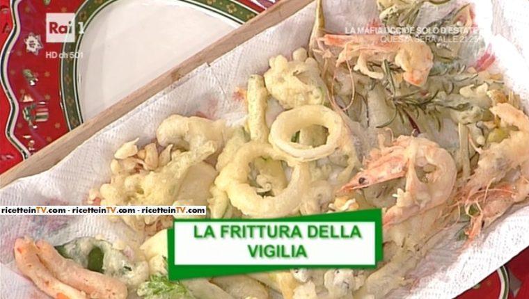 Menu Di Natale Anna Moroni.La Prova Del Cuoco Ricetta Frittura Della Vigilia Di Anna Moroni