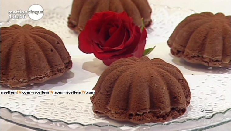 abbastanza Mattino Cinque | Samya | Ricetta fiori di cioccolato DE51