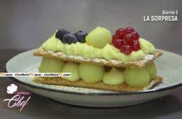 millefoglie con crema e mele