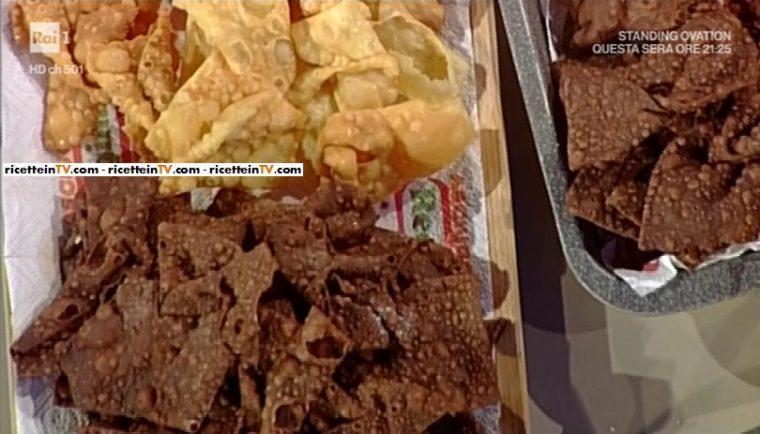 chiacchiere al cacao arancia e anice di Sal De Riso