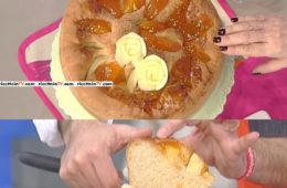 focaccia dolce con confettura di albicocche di Sergio Barzetti