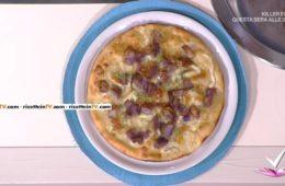 pizza con patate viola gorgonzola e scalogno di Gianfranco Iervolino