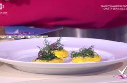 tortello di mozzarella e panzerotto stellato