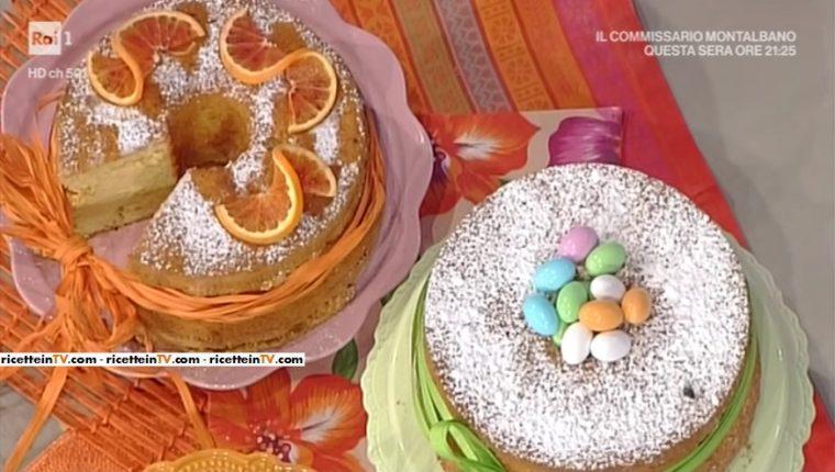 chiffon cake all'arancia di Natalia Cattelani