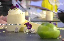dessert ananas lime e fiori freschi di Guido Castagna