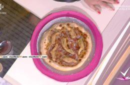 pizza con carciofi fritti provola e pancetta di Cristiano Piccirillo