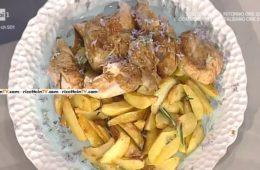 pollo arrosto con patate di Sergio Barzetti