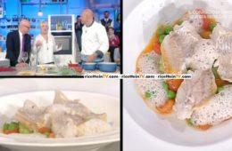 musdea al vapore acqua di mandorle e pomodorini al timo di Gianfranco Pascucci