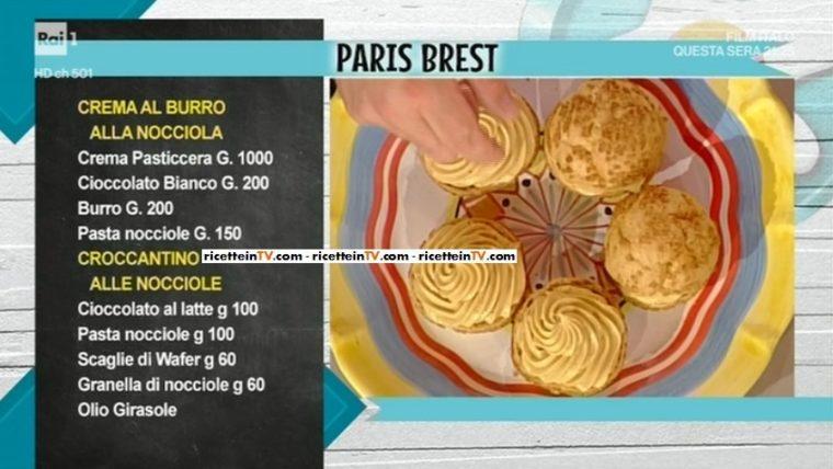Paris brest (bignè) di Sal De Riso