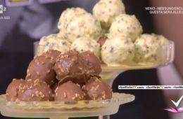 saltimbocca dolci (sfere di semifreddo) di Domenico Spadafora