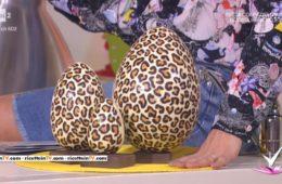 uovo di cioccolato maculato di Mirco Della Vecchia
