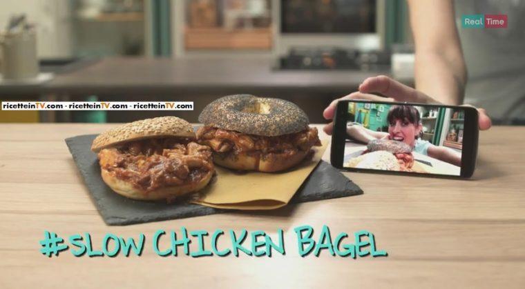 slow Chicken Bagel