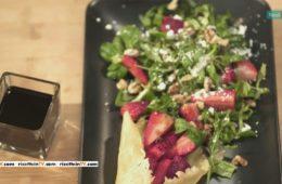 insalata di fragole croccante
