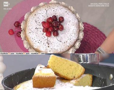 torta di ciliegie in padella di Natalia Cattelani