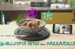 vellutata detox con mazzancolle