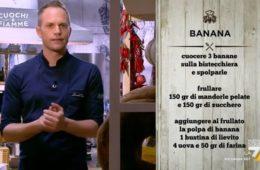 torta soffice di banane e mandorle di Simone Rugiati