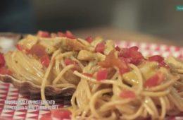 spaghetti con capesante