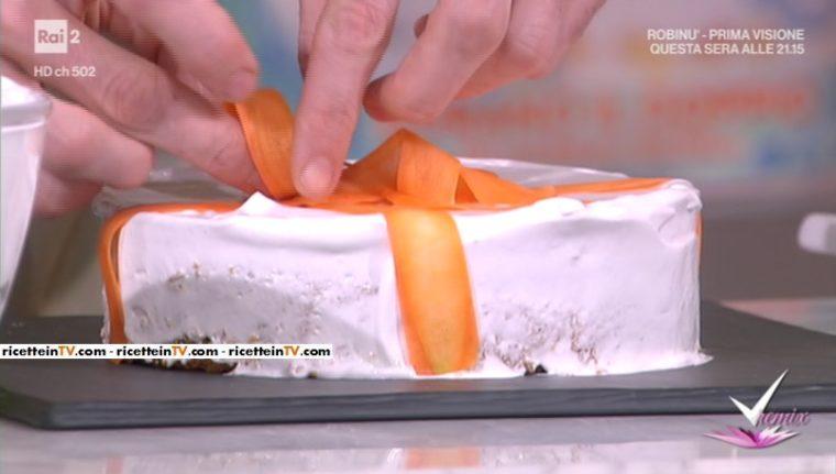 carotorta (torta di carote senza burro) di Franco Aliberti