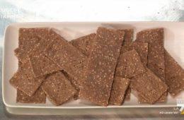 cracker di pane di segale di Simone Rugiati