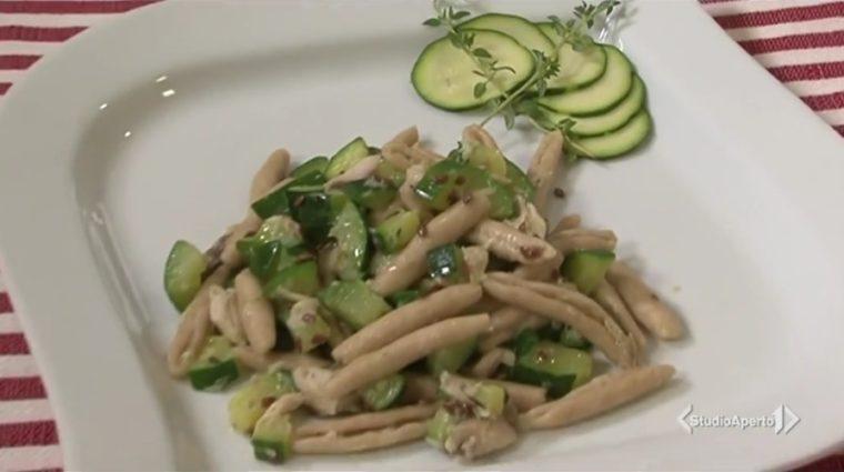 pasta zucchine e sgombro