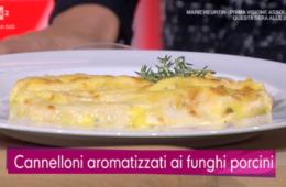 cannelloni aromatizzati ai funghi porcini di Beniamino Baleotti