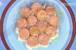 gnocchi di semolino rosa con salsa di noci di Marco Bianchi
