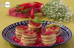 mini pancake ai fiori d'arancio di Samya