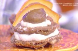 frittelle di castagne con crema di ricotta di Luisanna Messeri