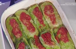 involtini di verza con prosciutto cotto e fontina di Sergio Barzetti