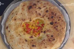 pizza ripiena con cuore di papaccelle
