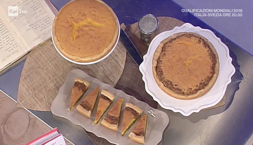 torta in guscio bicolore di Natalia Cattelani
