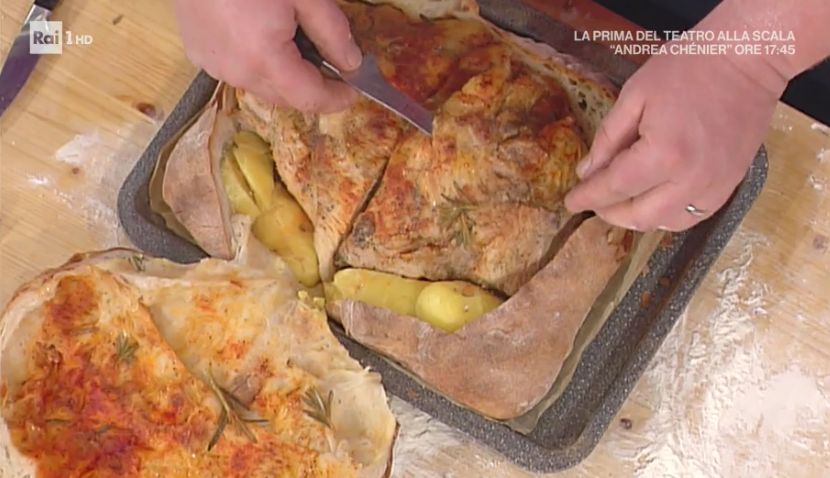 costata di maiale in crosta di pane di Gabriele Bonci