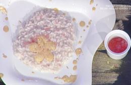perle di risaia allo spumante con bollicine a parte di Sergio Barzetti