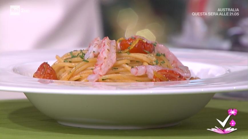 Detto fatto ricetta spaghetti rosso capodanno di matteo for Interno 2 saluzzo capodanno