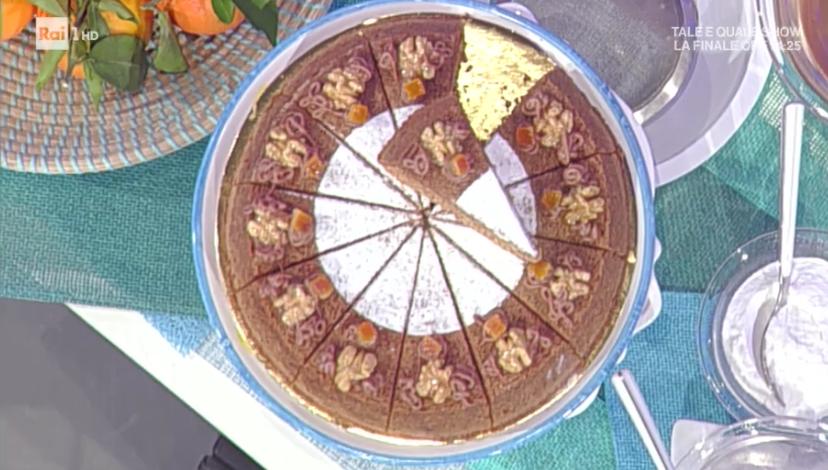 torta di noci e arancia di Sal De Riso