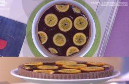 crostata cioccolato e arance di Franco Aliberti
