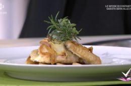 tasca di pollo ripiena al gorgonzola