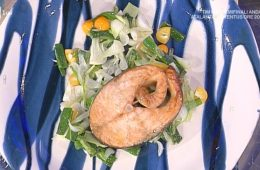 salmone arrosto all'orientale