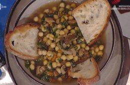 zuppa di ceci ed erbette di Anna Moroni
