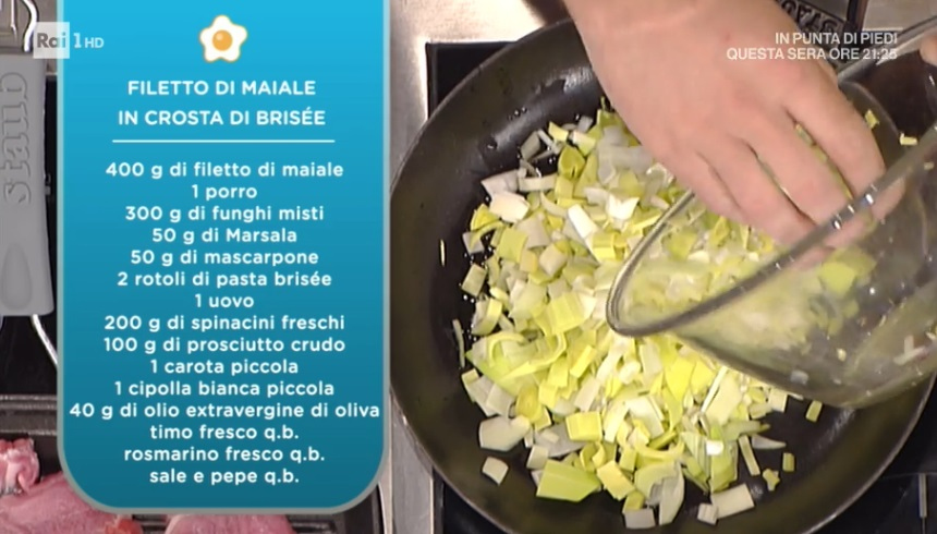 La Prova Del Cuoco Ricetta Filetto Di Maiale In Crosta Di Brisèe