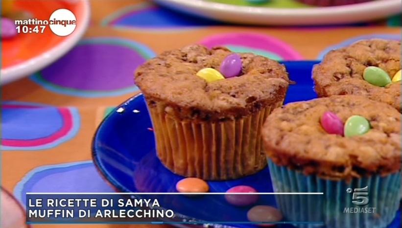 muffin di arlecchino