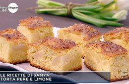 torta pere e limone