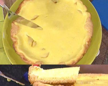torta di formaggio e pere di Alessandra Spisni