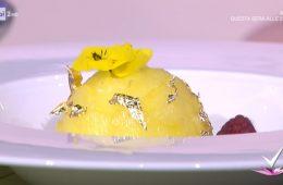mimosa alle mandorle