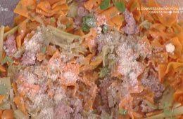 papillon con carciofi e salsiccia di Alessandra Spisni