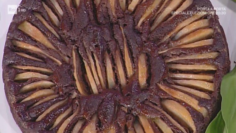 torta pere e cioccolato di Natalia Cattelani