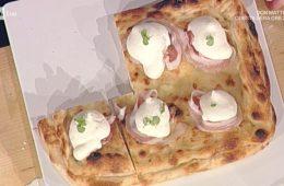 pizza imbottita fantasia di fiordilatti di Gino Sorbillo