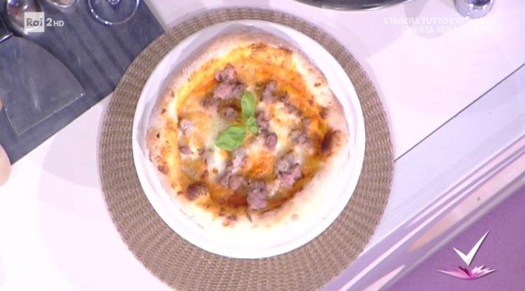 pizza peperoni e salsiccia di Vincenzo Capuano