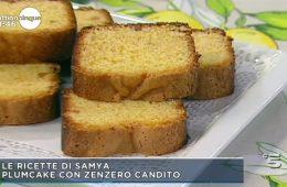 plumcake con zenzero candito