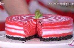 red velvet cheesecake zebrata di Francesco Saccomandi
